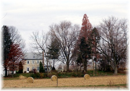 Stone farmhouse, Lancaster Country PA