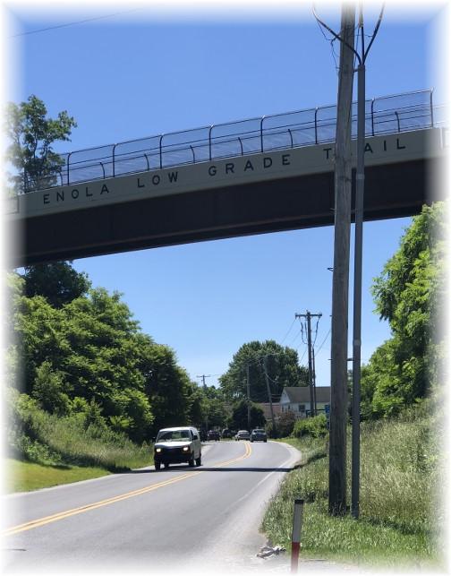 Bridge on the Enola Low Grade trail near Quarryville, PA 6/15/18