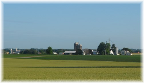 Lancaster County farm scene 6/2/13 (Click to enlarge)