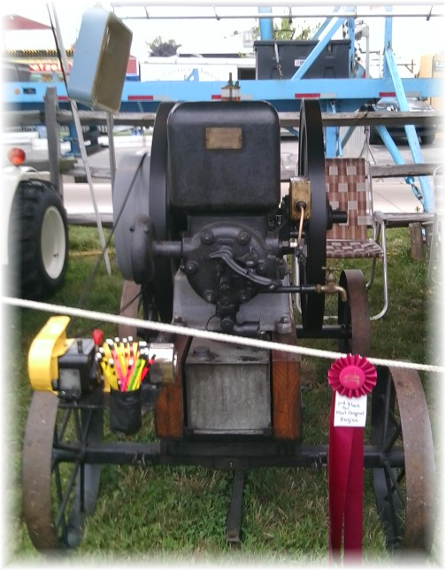 Elizabethtown Fair machinery (photo by Ester)