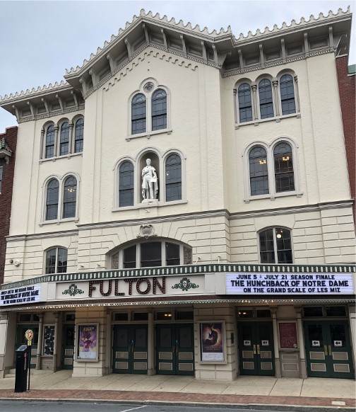 Futon Theater, Prince Street, Lancaster, PA 6/22/18