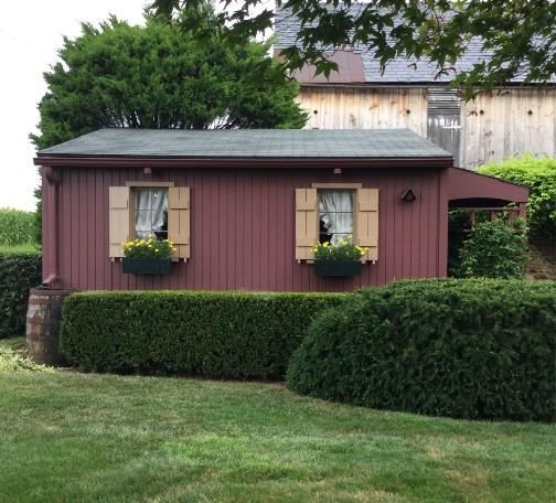 Garden shed in Conestoga Township, Lancaster County PA