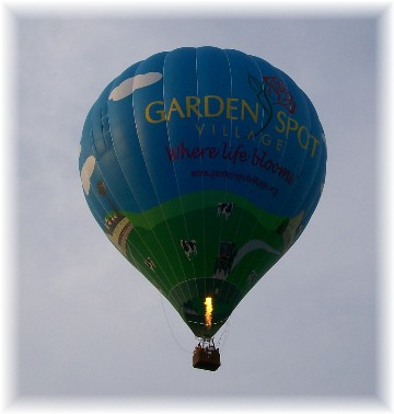 Balloon, Lancaster County, PA 9/2/10