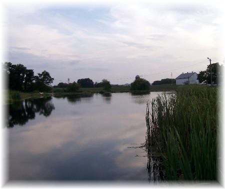 Geib farm pond 9/7/09