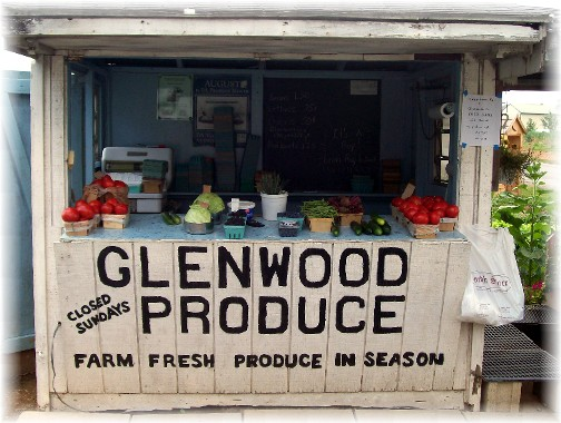 Glenwood Produce Stand, Martindale, PA 6/24/11