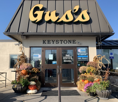 Gus's keystone restaurant, Mount Joy, PA