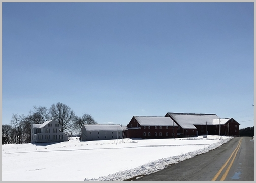 Harvest Road Farm, Lancaster County, PA 3/5/19 (Click to enlarge)