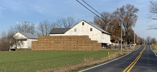 Barn with hay 11/15/19