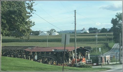 Herrs mill Covered Bridge 9/16/18
