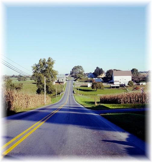 Hollander Road near Intercourse, PA 10/19/17 (Click to enlarge)
