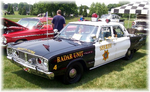 Police car at Intercourse Heritage Days 2011