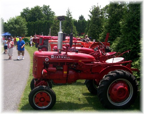 Tractors at Intercourse Heritage Days 2011