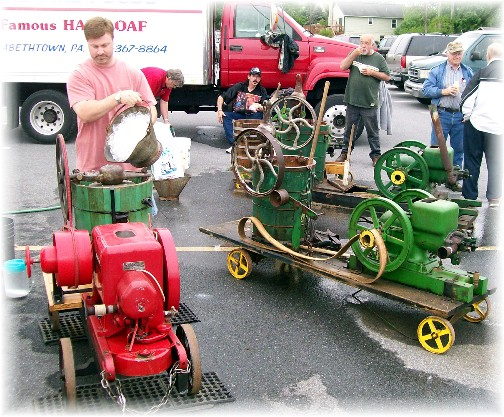 Ice cream makers at Kraybill auction