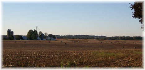 Harvest scene near Mount Joy, Pennsylvania
