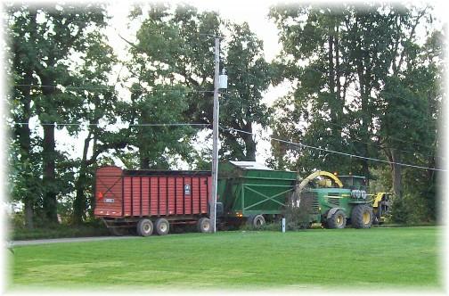 Kraybill church road harvest equipment  9/20/11