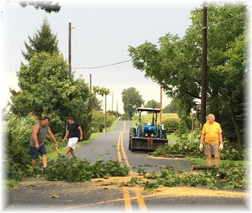 Storm Kraybill Church Road 8/16/16