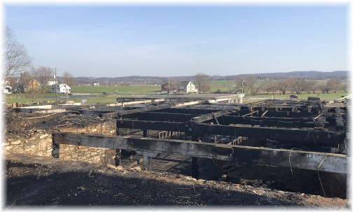Lancaster County barn fire ruins 4/12/18