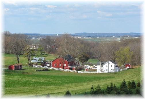 Lancaster County farm scene 4/13/13