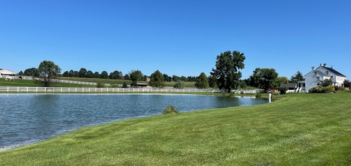Lancaster County farm and pond