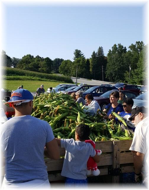Corn Wagon near New Danville, PA 8/25/17