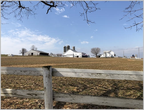 Lancaster County farm 3/15/19 (Click to enlarge)