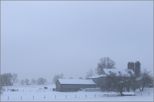 Lancaster County, PA farm 2/21/19 (Click to enlarge)