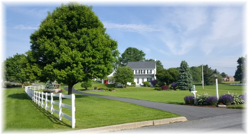 Lancaster County farmhouse 5/26/16