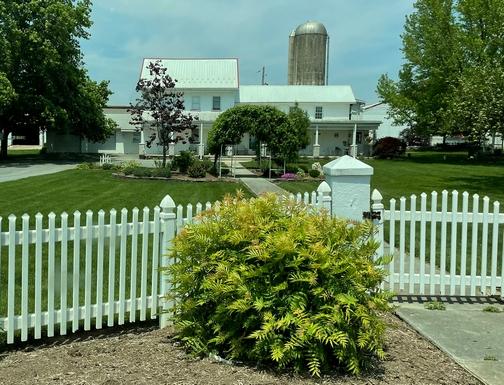Lancaster County farm house