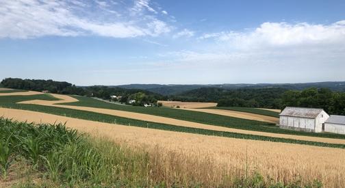 Martic Township rolling farmland