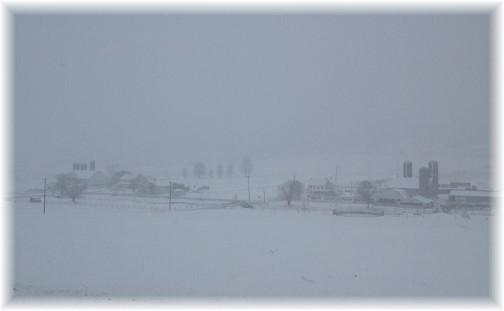 Lancaster County winter scene 3/1/15