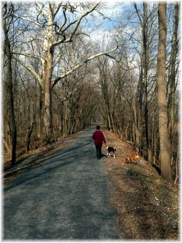 Lancaster Junction Trail near Mount Joy, PA