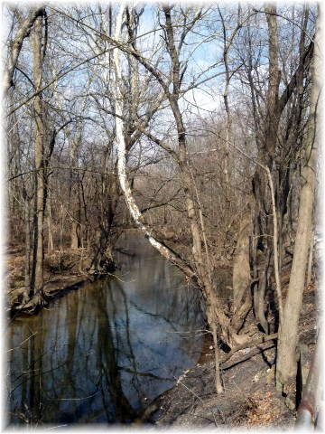 Chiques Creek along Lancaster Junction Trail near Mount Joy, PA