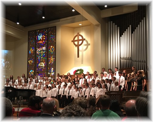 Lancaster Mennonite Children's Choir 12/4/16