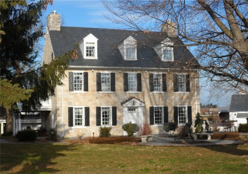 Lancaster County stone farmhouse