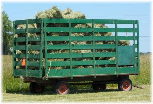 Lebanon County hay wagon 6/5/13