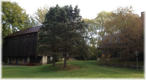 Lime Valley barn and farmhouse 10/2/14