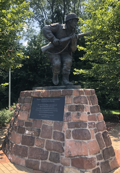 Dick Winters, Band of Brothers leader, Lititz-Ephrata rail trail, Lancaster County, PA