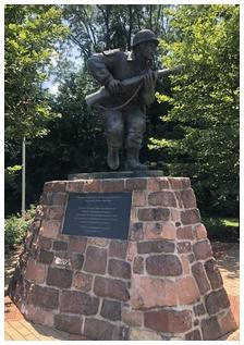 Statue in Ephrata, PA