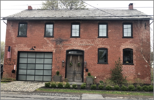 Brick home in Lititz, PA 4/14/19