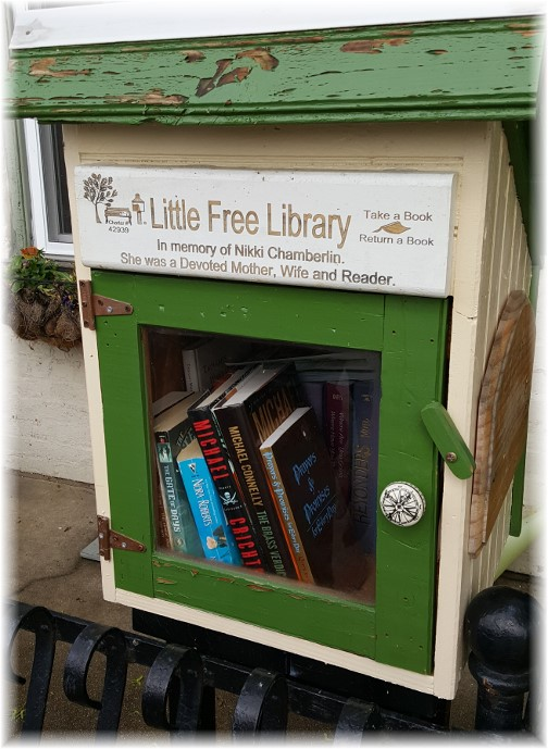 Little free library, Columbia, PA 4/29/17