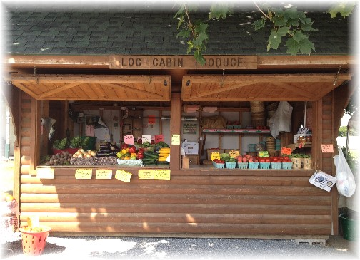 Log Cabin Produce, Farmersville, PA 8/27/15