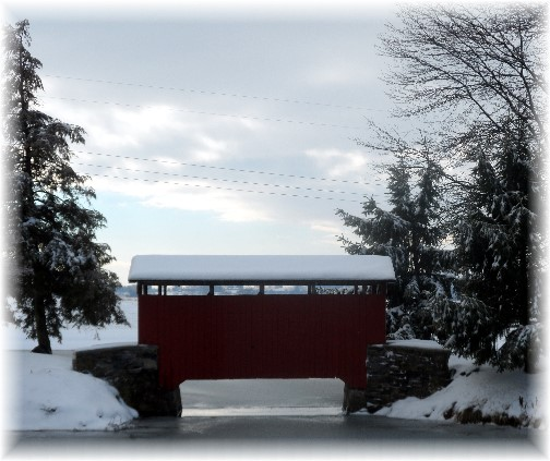 Longanecker Covered Bridge 12/15/13