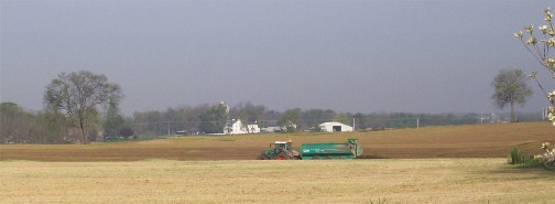 Manure speading 4/16/12