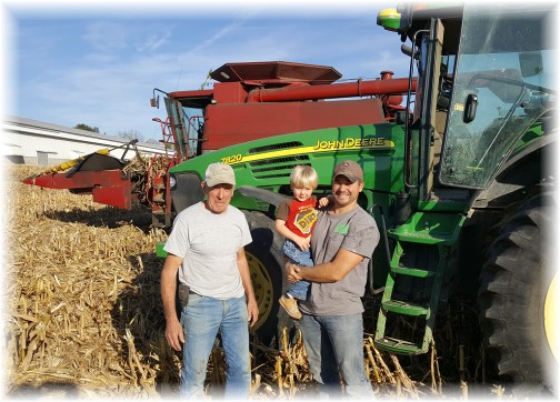 Lancaster County corn harvest 10/12/16