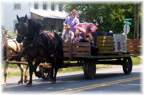 Martindale Road wagon traffic