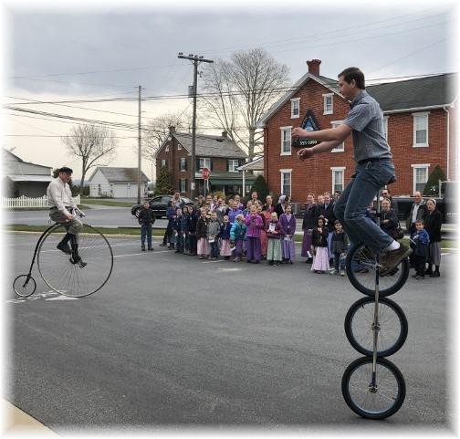 Demonstration at Martin Bike Shop 4/12/18
