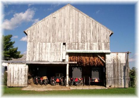 Old order Mennonite barn