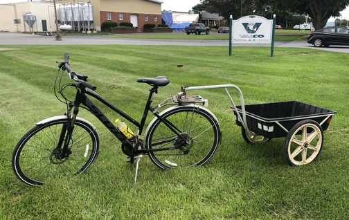 Bike in Lancaster County