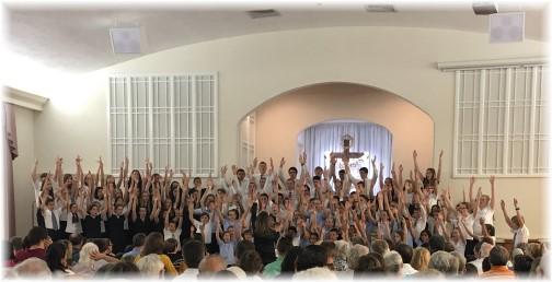 Mennonite Children's Choir of Lancaster 4/30/17 (Click to enlarge)