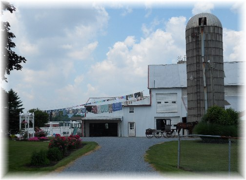 Lancaster County Mennonite farm 6/20/13